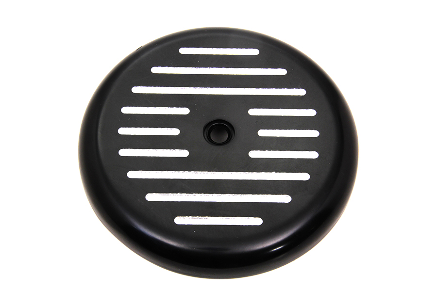 Black Ball Milled Air Cleaner Cover