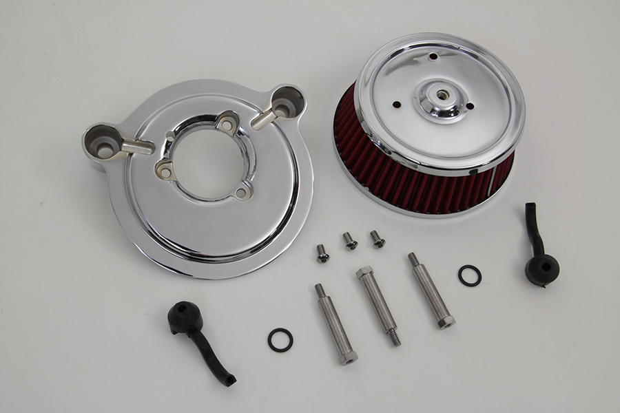 Air Cleaner And Backing Plate For Harley Davidson By V