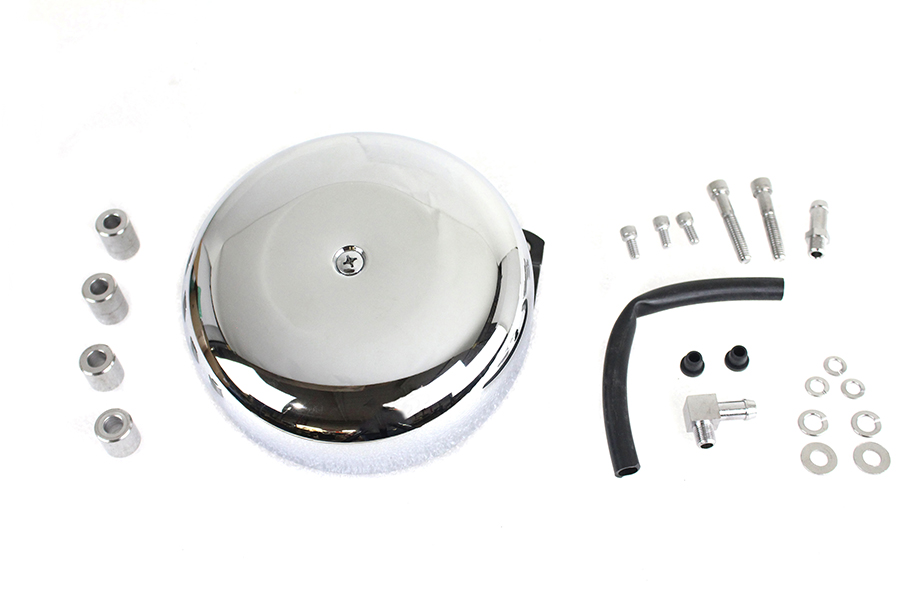Round Air Cleaner Smooth