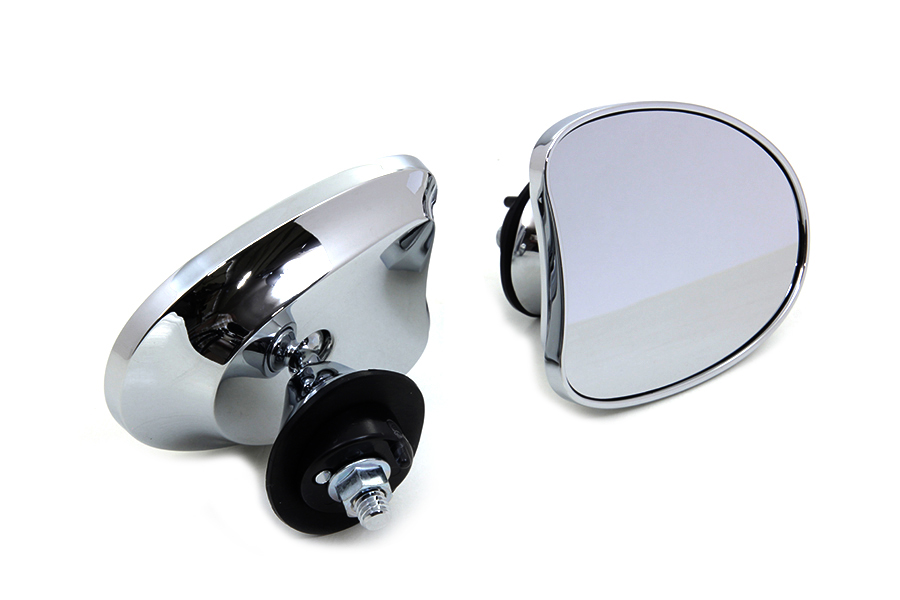 Mini Fairing Mirror Set Chrome