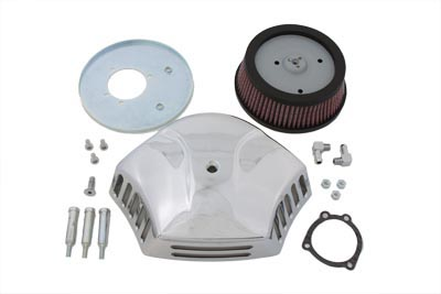 V-Force Air Cleaner Kit Chrome Billet