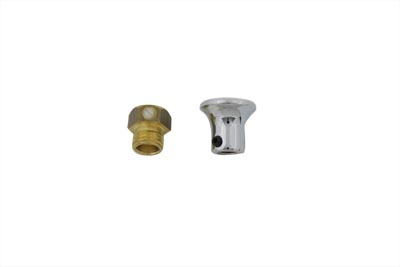 Carburetor Choke Cable Knob Chrome