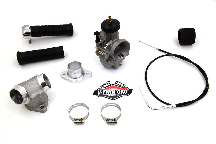 38mm OKO Flatslide Carburetor Kit