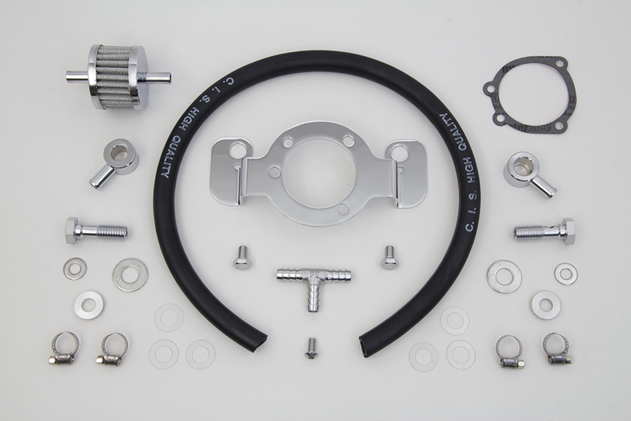 Crankcase Breather and Bracket Kit