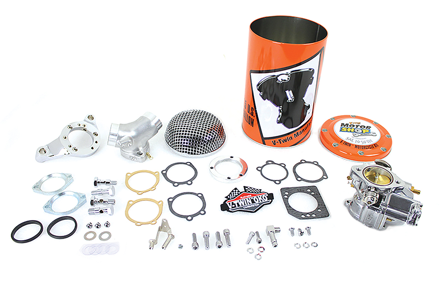 "OKO Performance 1-7/8"" Shorty Carburetor Kit Natural"