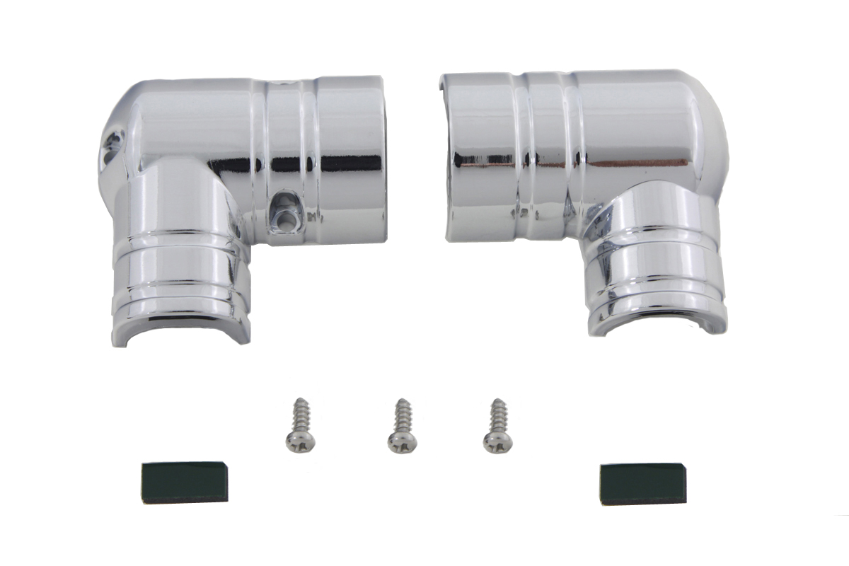 Chrome Fuel Tank Fitting Cover