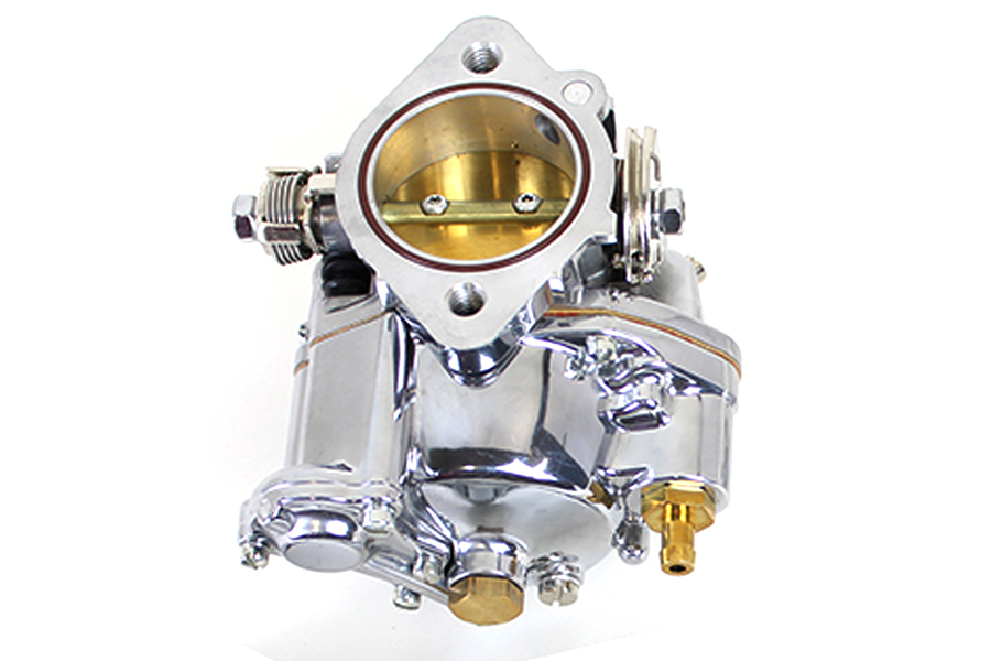 "OKO Performance 1-7/8"" Shorty Carburetor Kit Bright Polished"