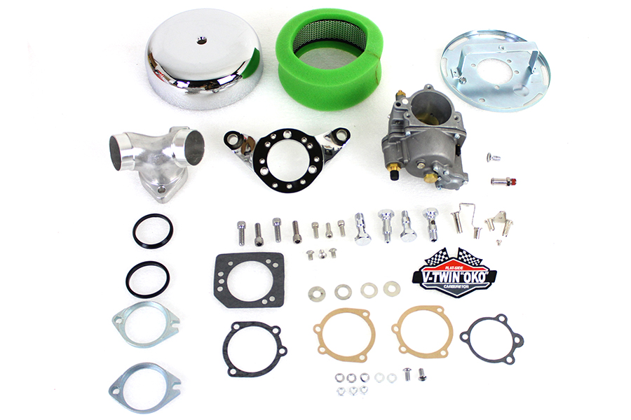 "OKO Perforamnce 1-7/8"" Shorty Carburetor Kit Natural"