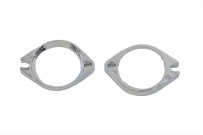 Intake Manifold Flange Set Chrome