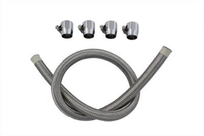 Braided Fuel Line Kit Stainless Steel