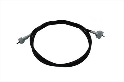 "54-1/2"" Black Speedometer Cable"