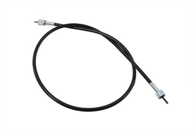 "*UPDATE 38.75"" Black Tachometer Cable"