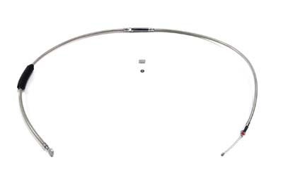 """64.57"""" Braided Stainless Steel Clutch Cable"""