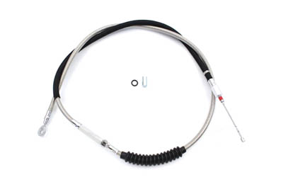 """62.51"""" Braided Stainless Steel Clutch Cable"""