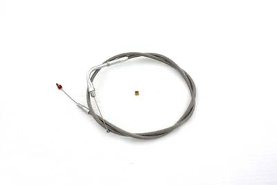 Braided Stainless Steel Throttle Cable