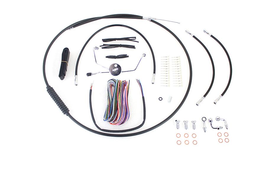 """15""""-17"""" Handlebar Cable and Brake Line Kit"""