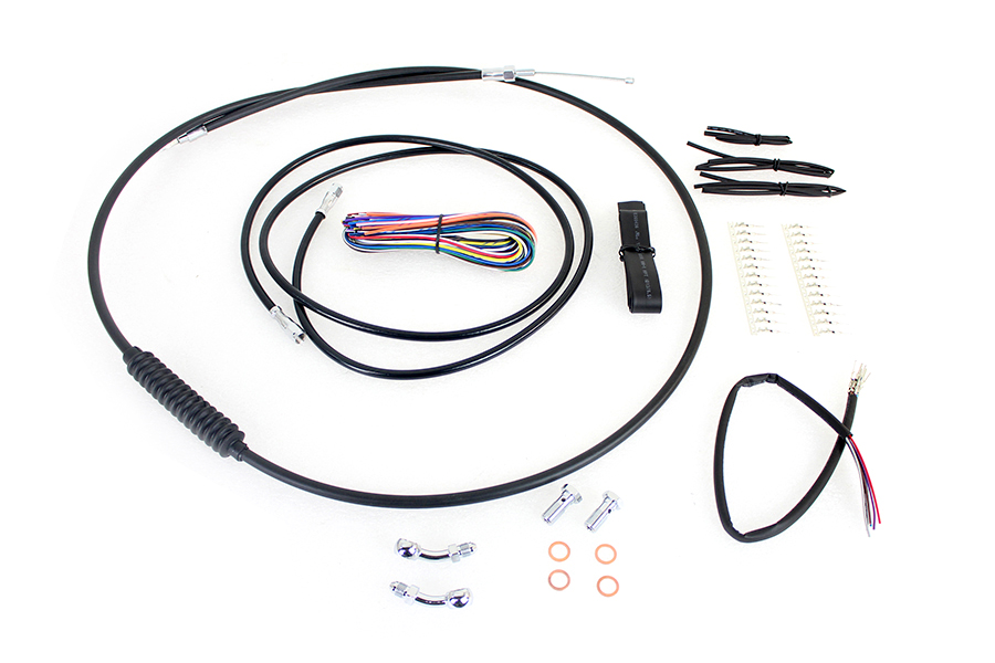 "12""-14"" Handlebar Cable and Brake Line Kit"