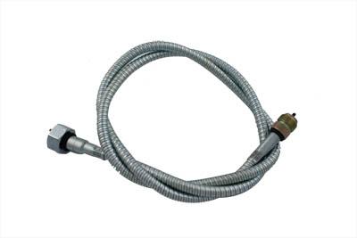"50"" Zinc Speedometer Cable"
