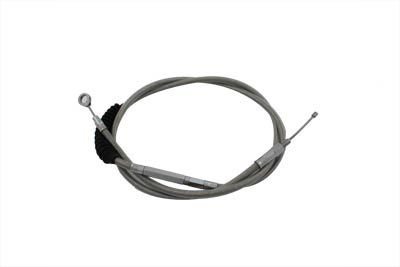 """57.63"""" Braided Stainless Steel Clutch Cable"""