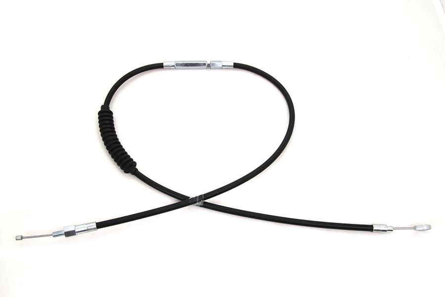 """51-1/2"""" Black Vinyl Clutch Cable"""