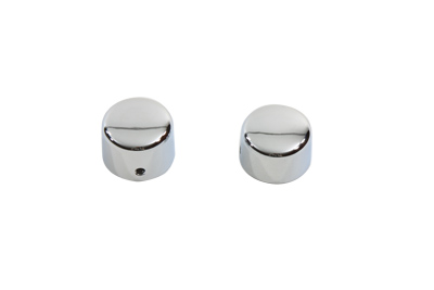 Chrome Front Axle Cap Cover Set Cap Style