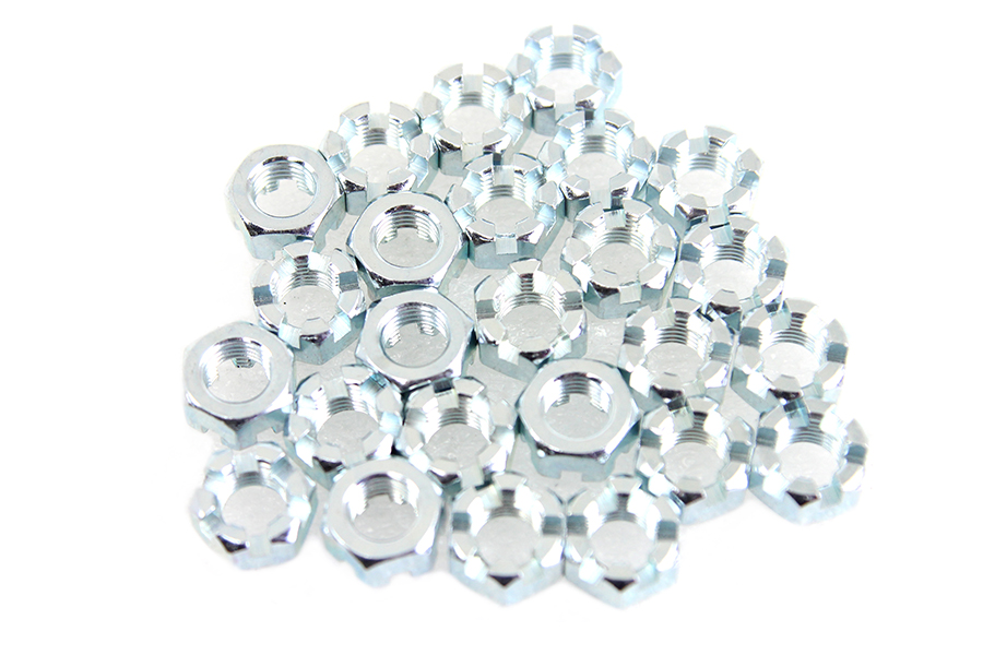 "Zinc Plated 7/16""-20 Locknut"