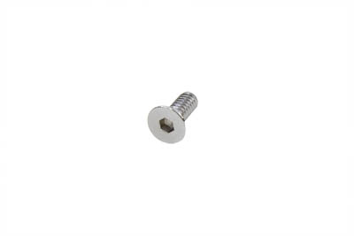 "Allen Flat Head Screws Chrome 1/4"" x 5/8"""