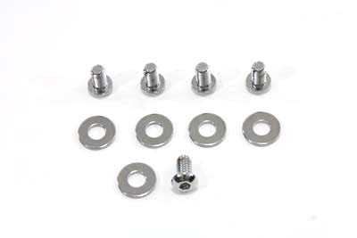 Primary Derby Screw Kit Chrome