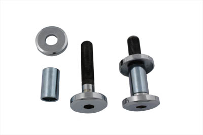 Wyatt Gatling Riser Bolt Kit Allen Type Chrome