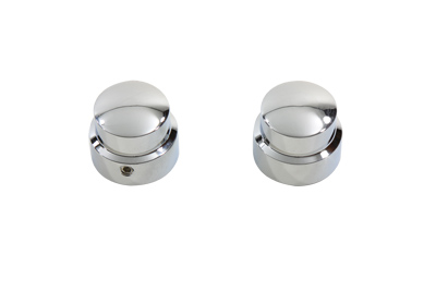 *UPDATE Chrome Front Axle Cap Cover Set, Cap Style