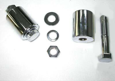 """*UPDATE Motor Mount Spacer Kit Chrome 1-3/4"""""""