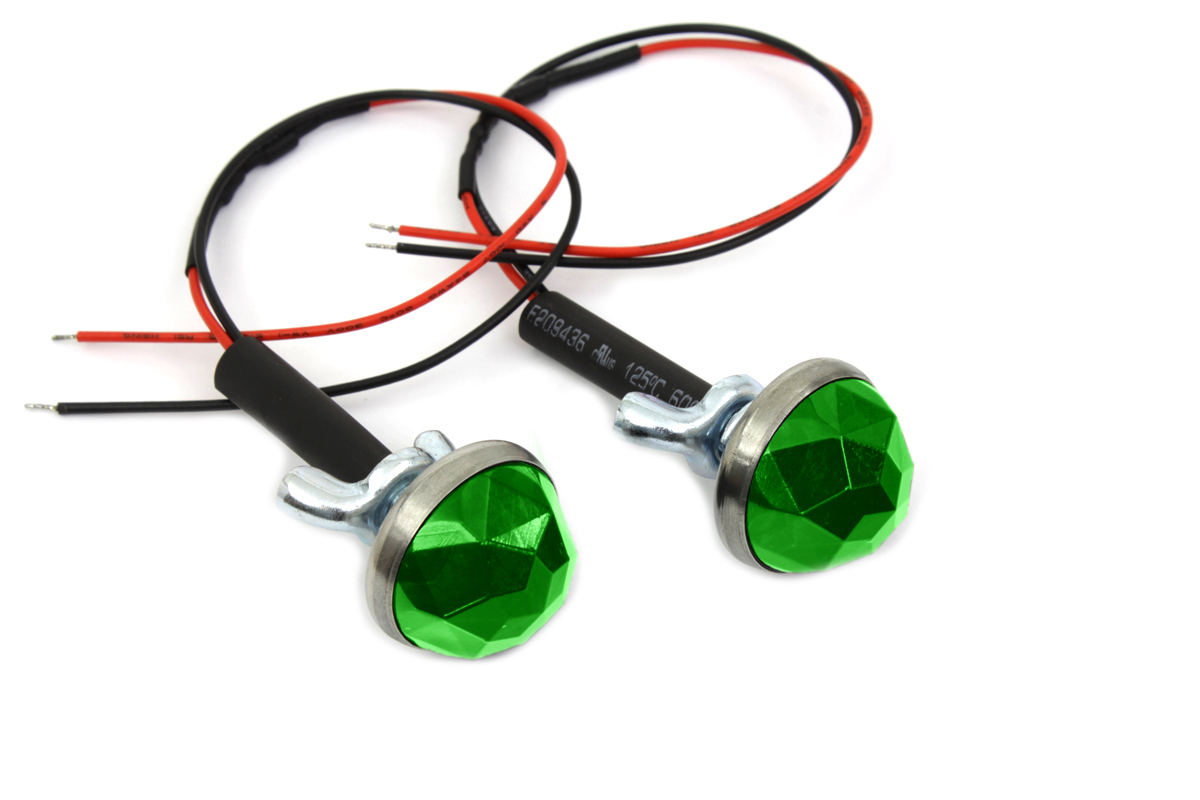 Green LED Reflector Set