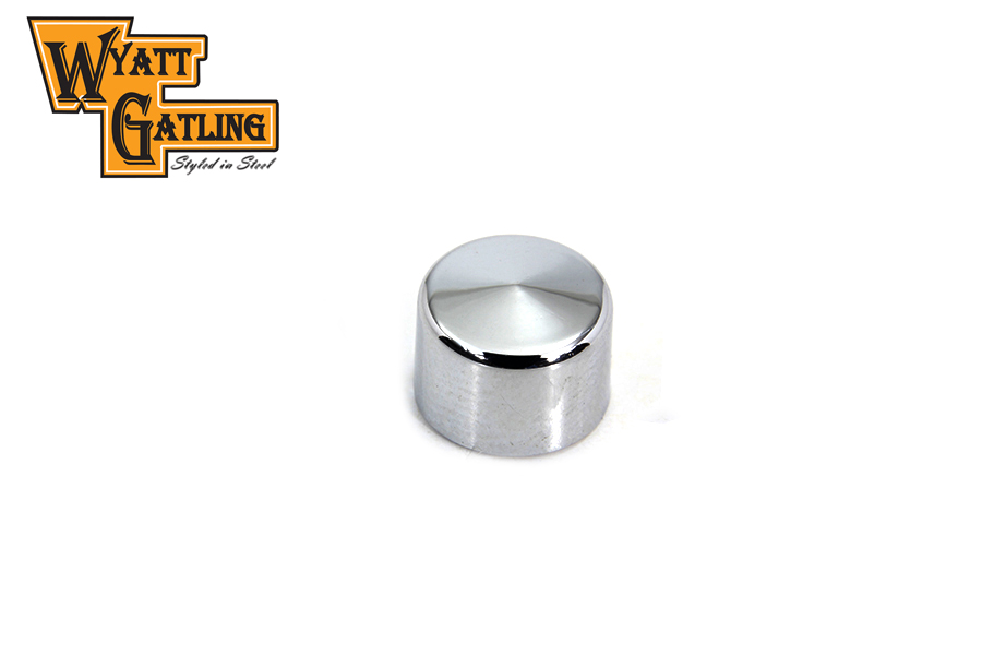 Wyatt Gatling Chrome Allen Head Bolt Caps 1/4""