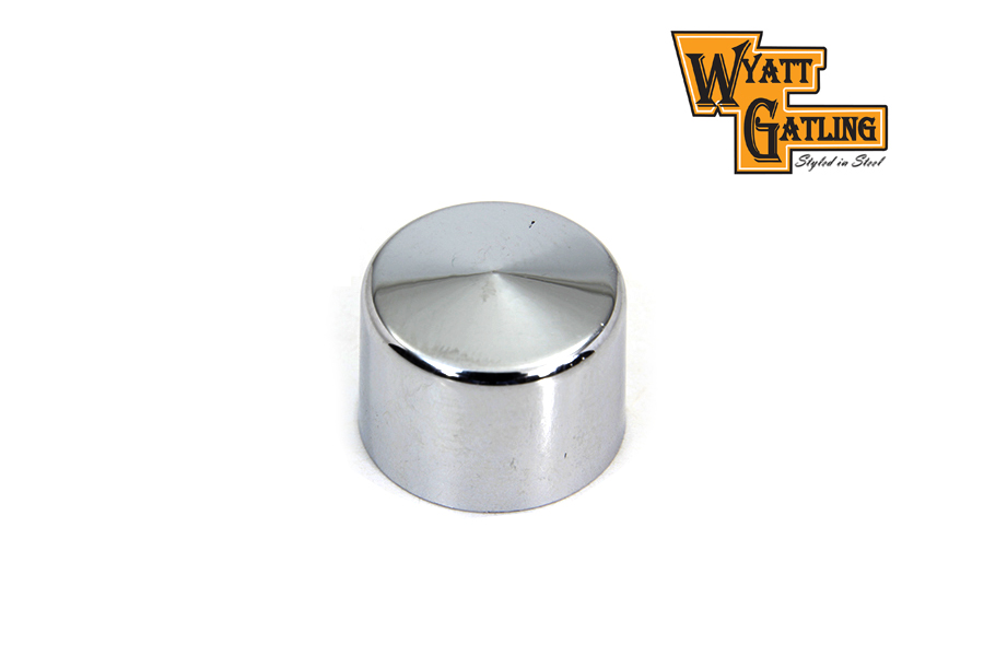 Wyatt Gatling Chrome Allen Head Bolt Caps 3/8""