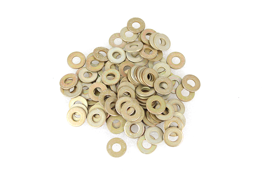 "Cadmium Plated 1/4"" Flat Washers"