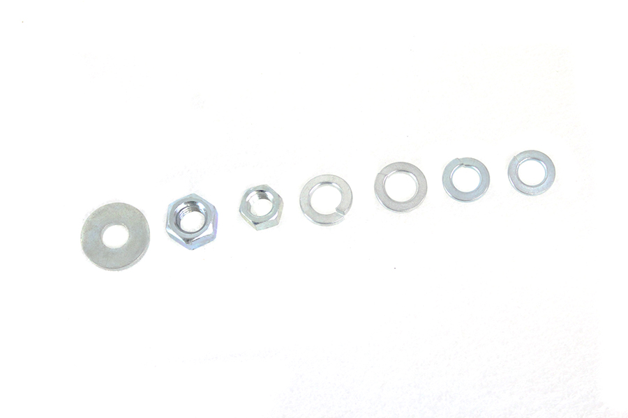 Spring Fork Nut and Washer Kit Zicad Plated