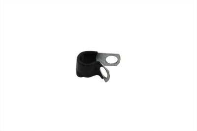 """Vinyl Coated 1/4"""" Cable Clamp"""