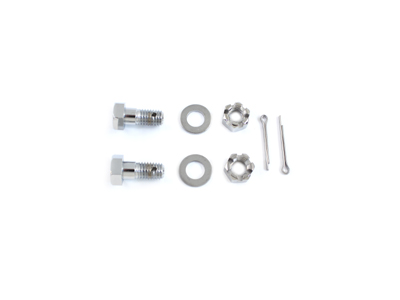 Chrome Caliper Support Bar Bolt Set