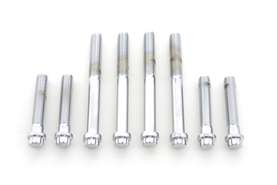 *UPDATE Cylinder Headbolt Set Chrome 12 Point Style