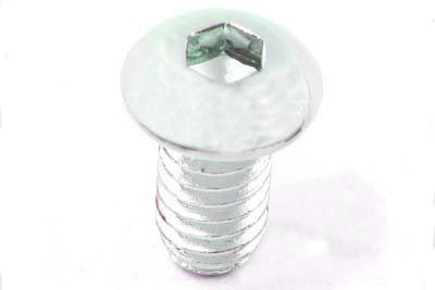 "Allen Button Head Screws Chrome 3/8"" X 1-1/2"""