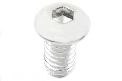 "Allen Button Head Screws Chrome 3/8"" X 3/4"""