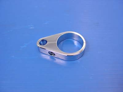 35mm Clutch Cable Clamp Chrome