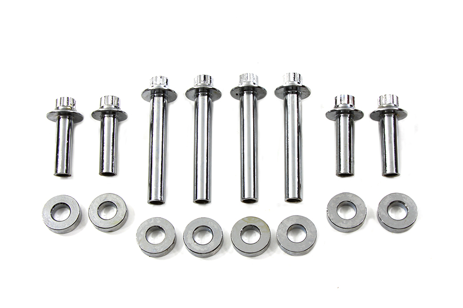 Head Bolt Set Chrome