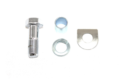 Kick Starter Pedal Pin Bolt Kit Chrome