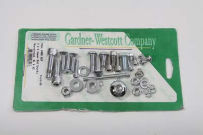 Chrome Screw Kit