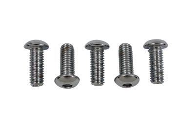 Rear Disc Bolt Kit Chrome