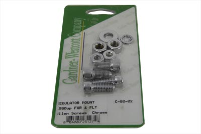 *UPDATE Chrome Regulator Mount Hardware Kit