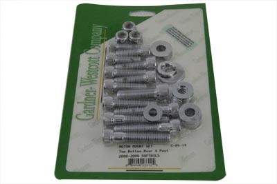 *UPDATE Chrome Engine Mount Allen Screw Kit