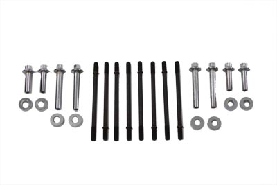 Cylinder Hardware Kit Chrome