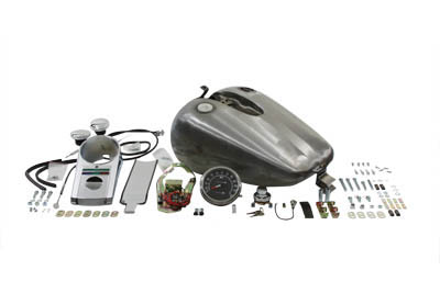 Bobbed 4.0 Gallon Gas Tank Kit